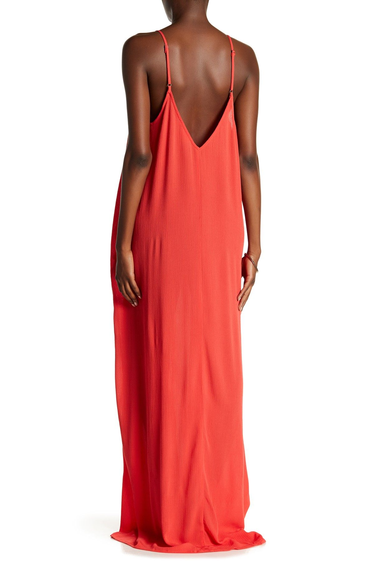 cdd575b3c4c Love Stitch - V-Neck Sleeveless Gauze Maxi Dress is now 66% off. Free  Shipping on orders over $100.