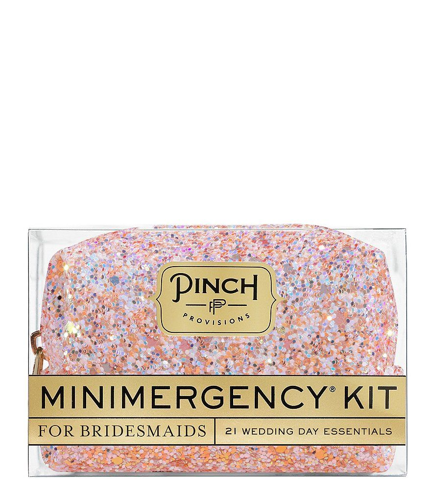 Pinch Provisions Minimergency Kit for Bridesmaids Minimergency Kit, Bridal Gifts, Dillards, Bridesmaids,