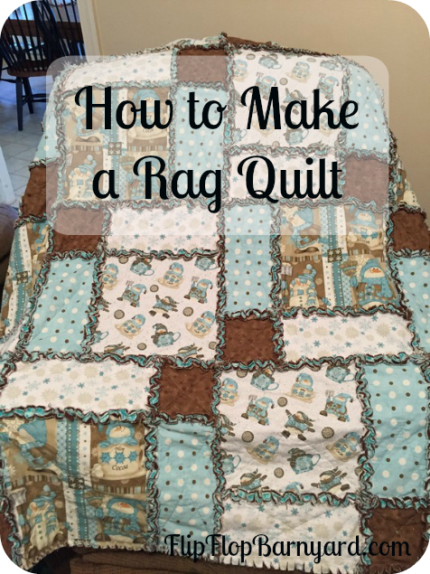 How To Make A Rag Quilt A Simple Diy Sewing Project Rag Quilt