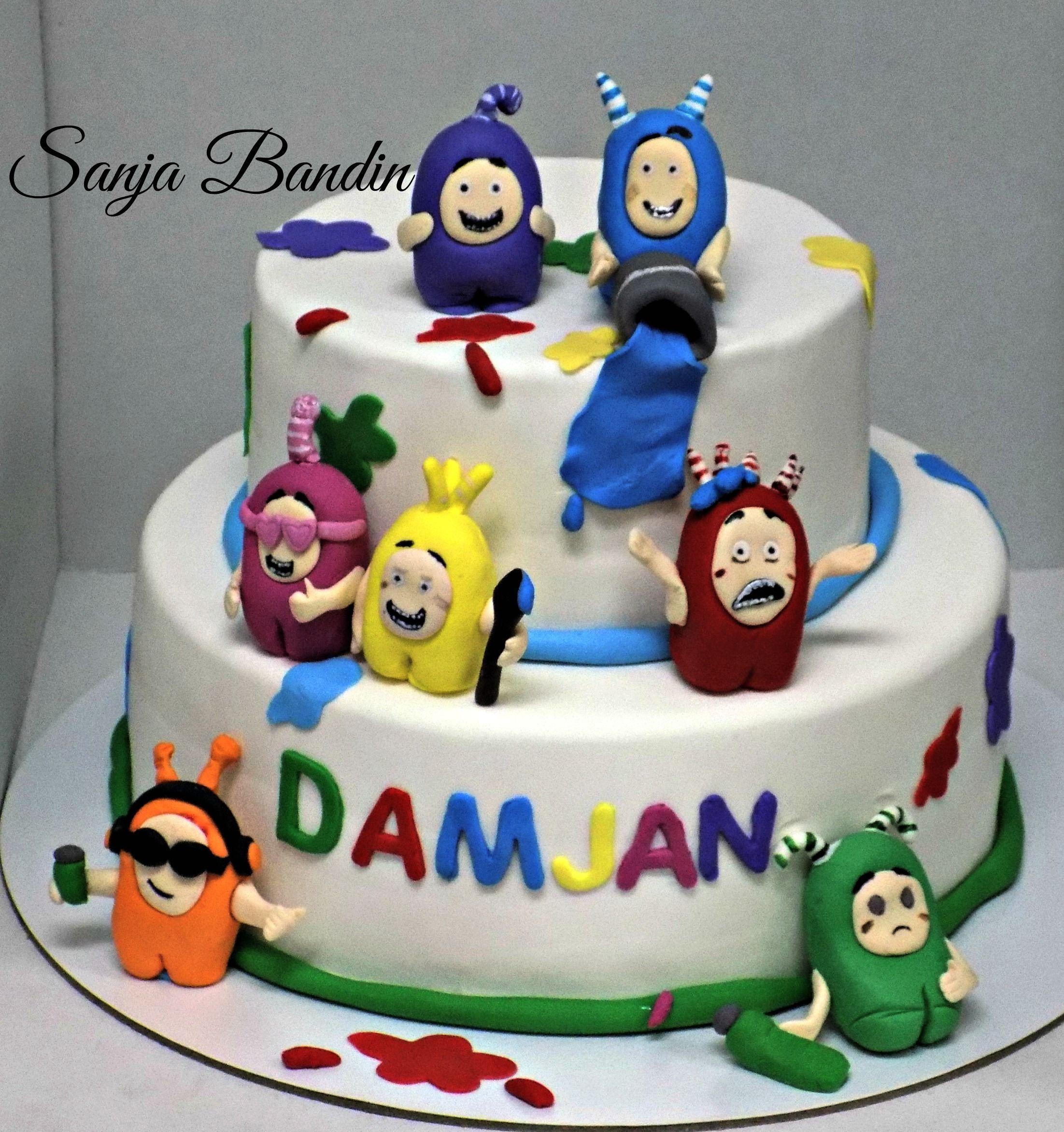 Oddbods Cake In 2019 Cake Cake Decorating Birthday Cake