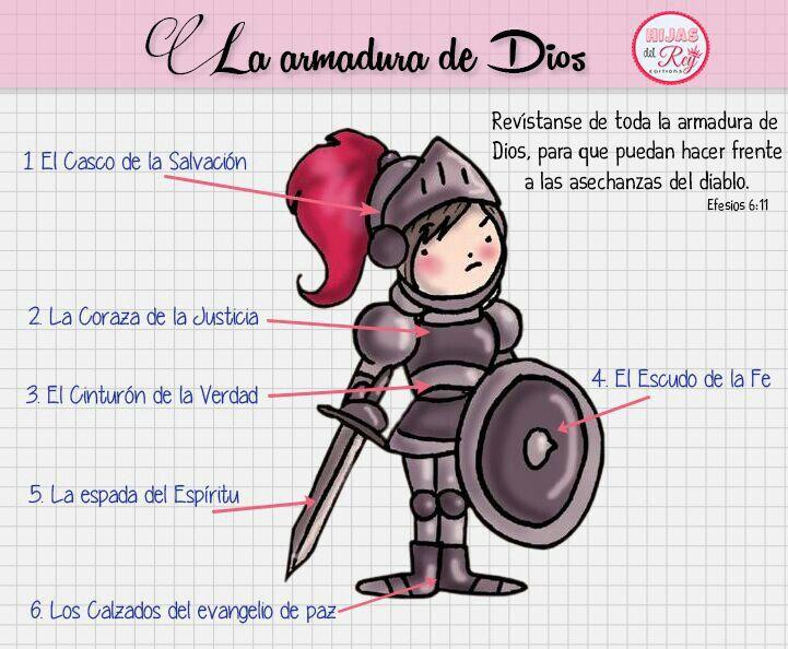 La armadura de Dios . | Dios es amor | Pinterest | God, Bible y Gods ...