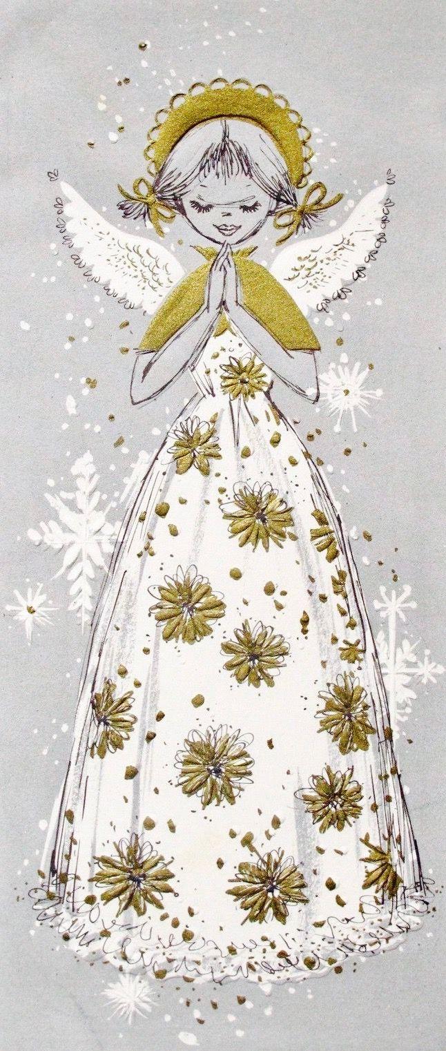 retrochristmas midcentury modern christmas card