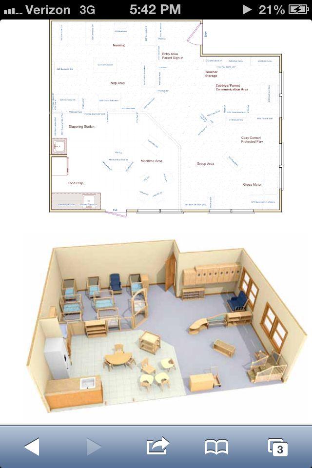 Infant Classroom, Classroom Interior