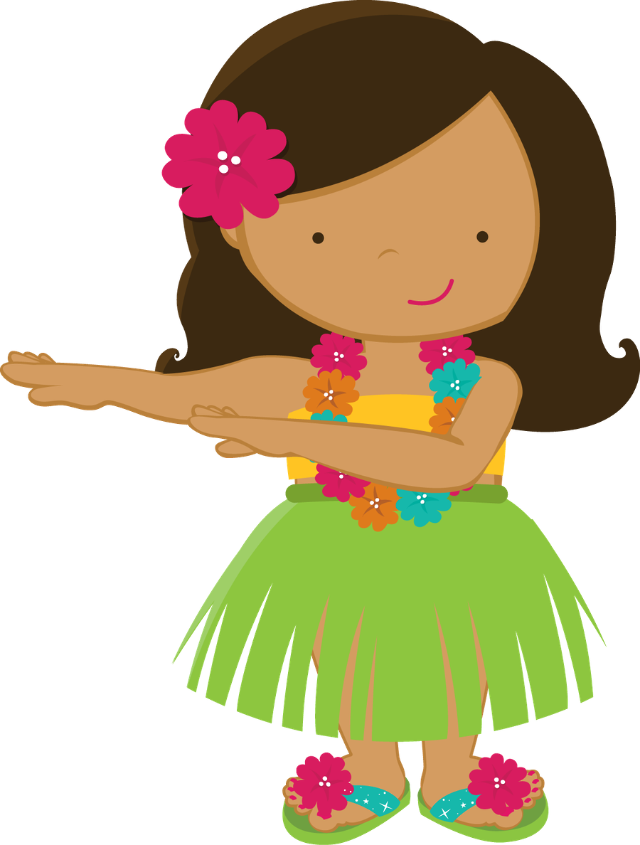 aloha minus hawaiian girl drawings pinterest hawaiian girls rh pinterest com cartoon hula girl clipart hula girl clipart graphics