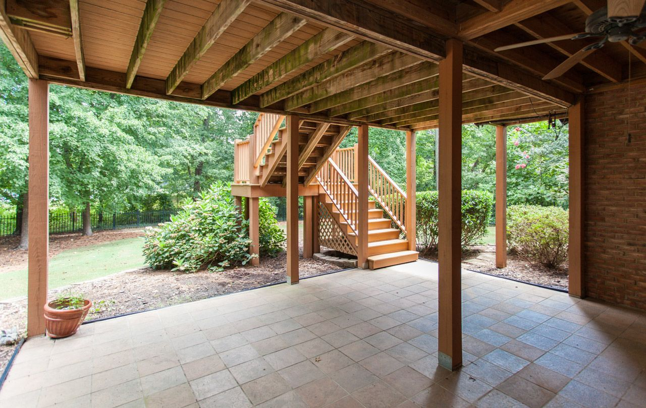 patio under deck patio ideas pinterest
