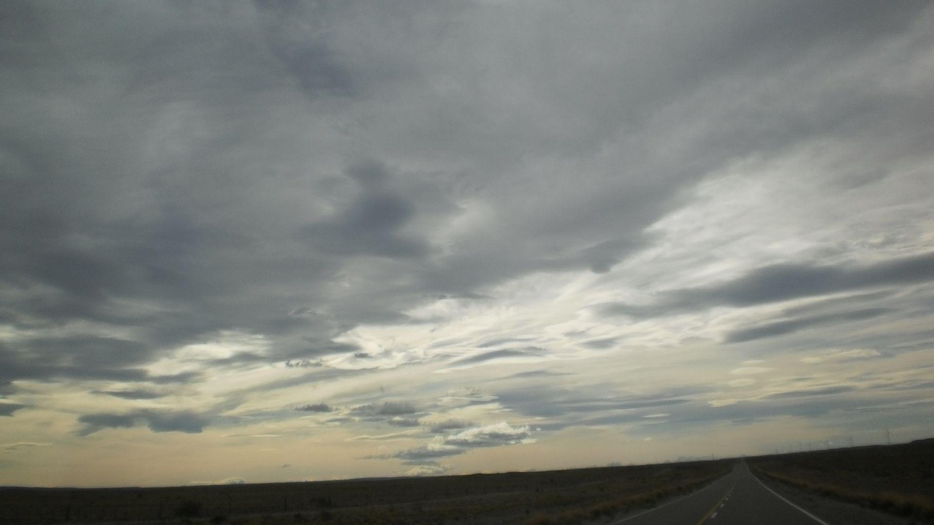 Ruta Provincial N 43 Perito Moreno Santa Cruz Nubes Cielo