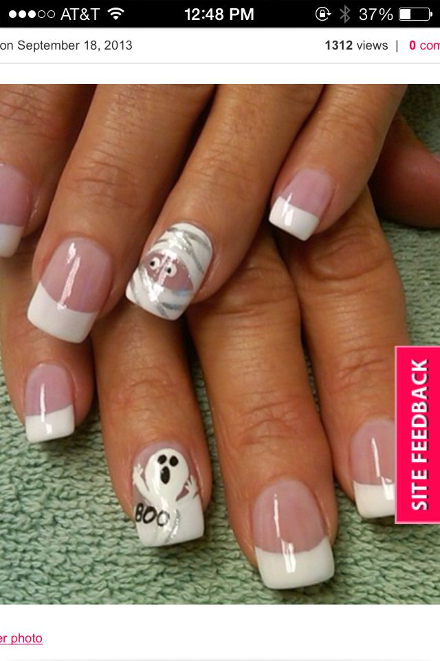23 Crazy Halloween Nail Designs You Can Do At Home! | Cute ...