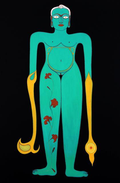 Rekha Rodwittiya, 'Rekha @ 50 (Teal),' 2008, Aicon Gallery