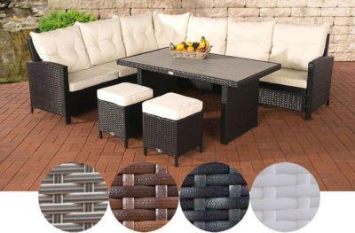 Lovely Rattan Gartengarnitur VICENTA, Das Besondere Polyrattan Lounge Möbel Set  (bis Zu 4 Farben Wählbar Photo