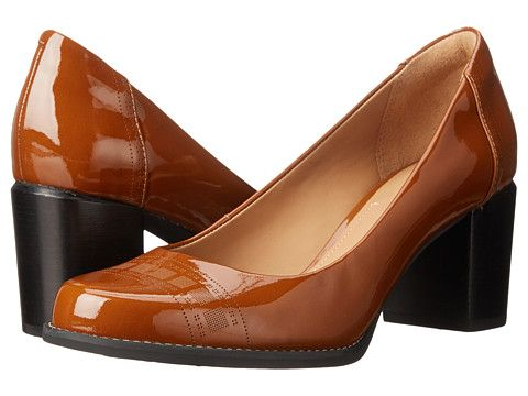 Womens Shoes Clarks Tarah Sofia Black Patent Leather