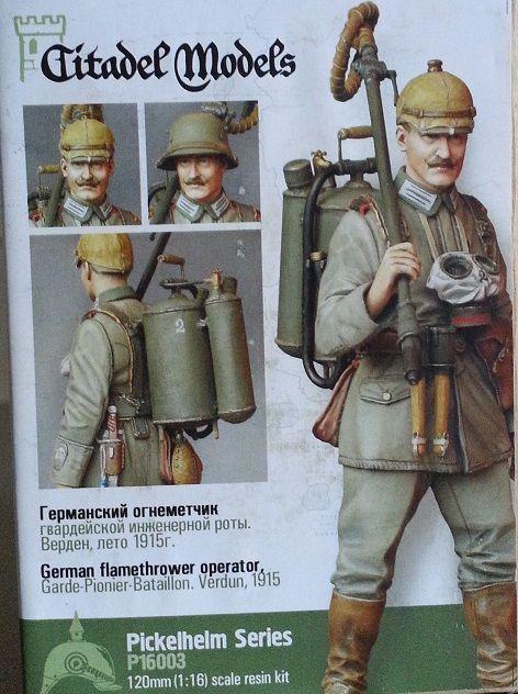 German Flammenwerfer 1916 | WW1 German | World war i, Wwi, German