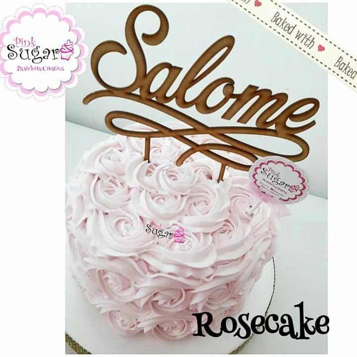 Rosecake buttercream