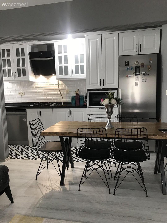 Bu Açık Mutfağın Dekorasyonunda Modern Esintiler Hissediliyor – 5 | Ev Gezmesi