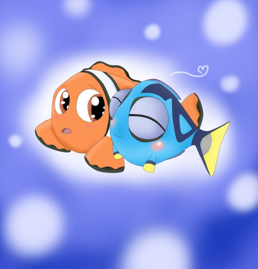 Kid Marlin X Baby Dory By Darkradx On Deviantart