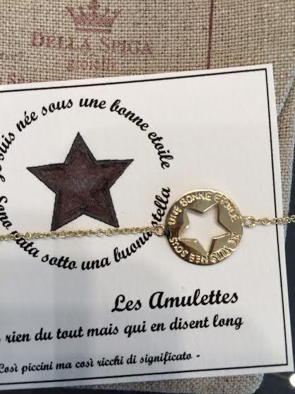 BRACCIALE AMULETTES 9 KT HANDMADE PAGINA FACEBOOK DELLA SPIGA GIOIELLI