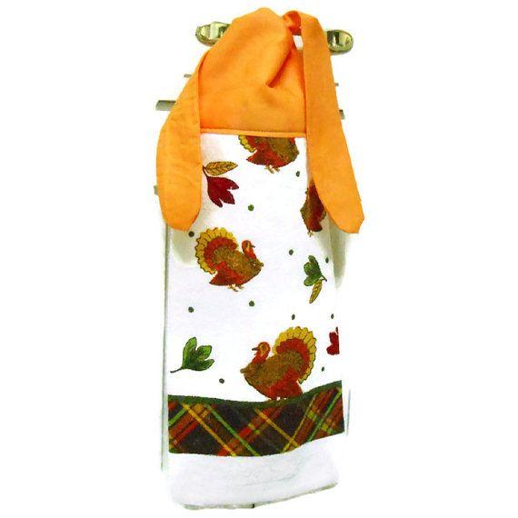 Kitchen Hand Towel, Hand Towel, Tie On Towel, Towel With Ties, Hanging Hand  Towel, Kitchen Towel, Dish Towel, Holiday Towel, Fall Towel