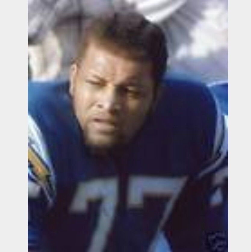 San Diego Chargers Hall Of Fame Players: Ernie Ladd (77) San Diego Chargers