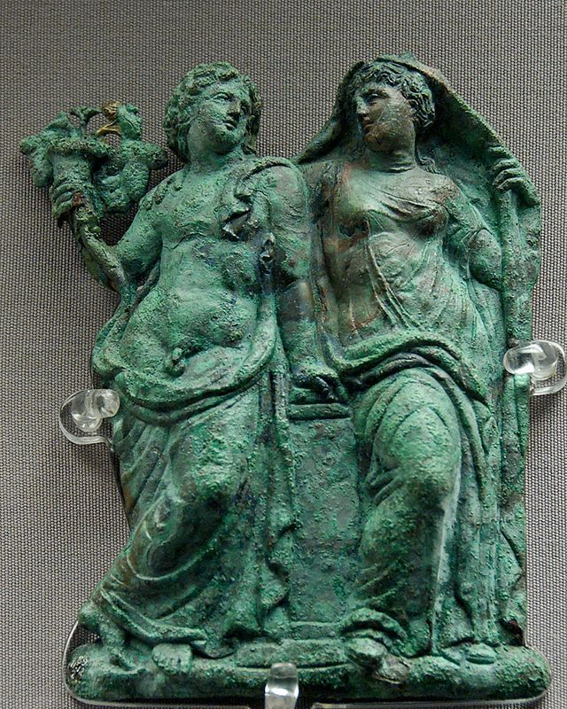 From Wikiwand:Дионис и Ариадна. Британський музей, Лондон 325–300 гг.до н.е.