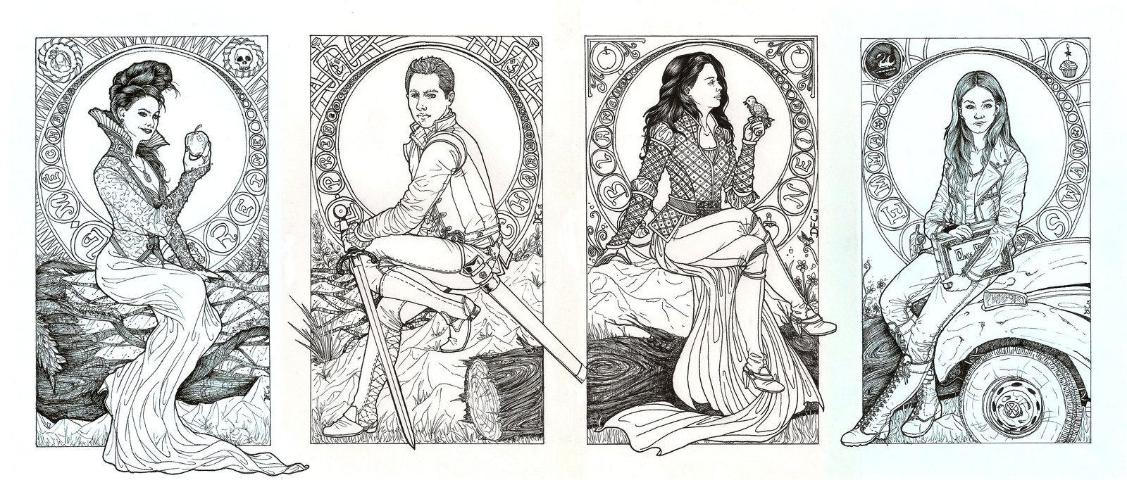 Ouat Queen Warrior Princess And Saviour By Danielfoez