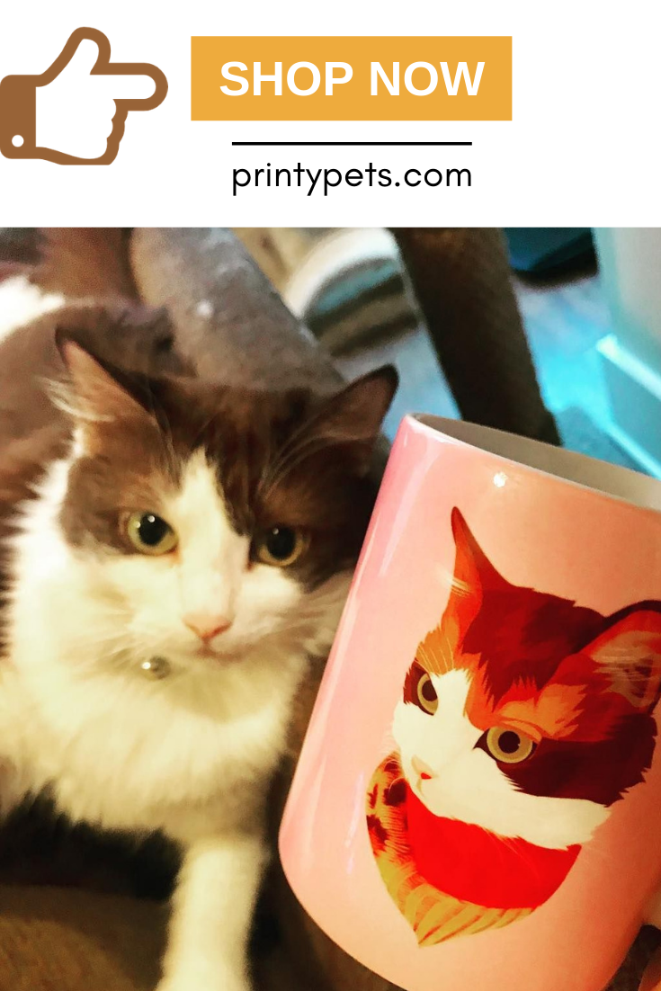 Custom Pet Print Coffee Mug Pets Artwork Design Pet Home