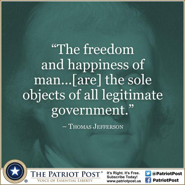 Legitimate Government? — The Patriot Post