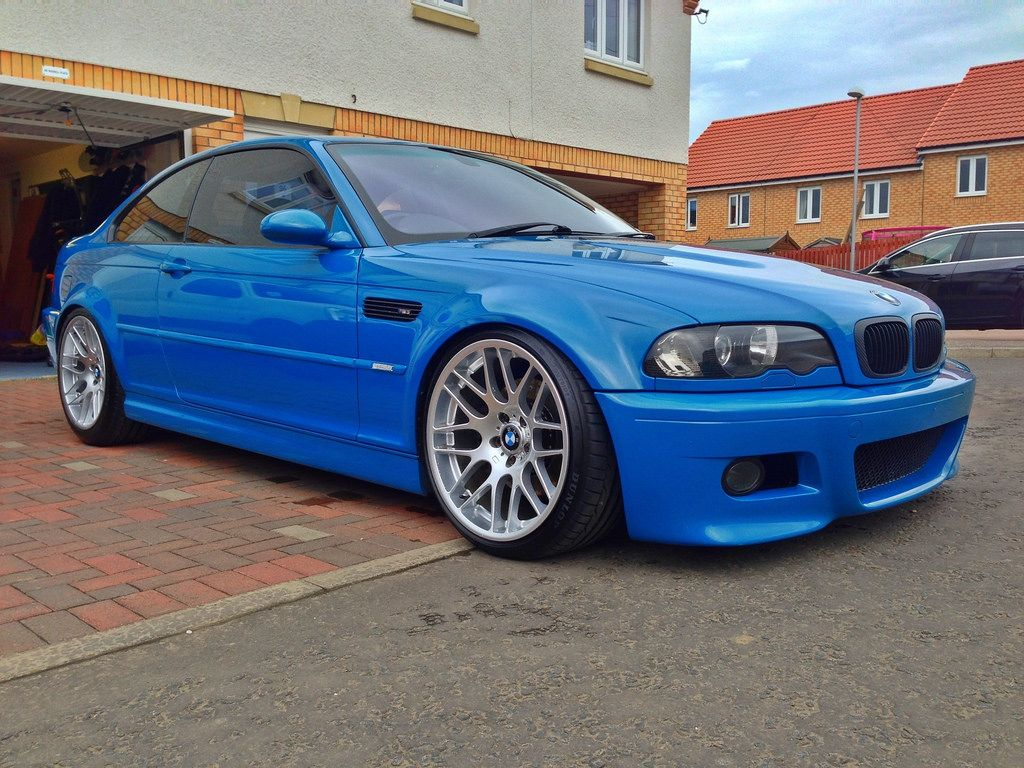 19 CSL Style Wheels  Hyper Silver Square Set Up  The
