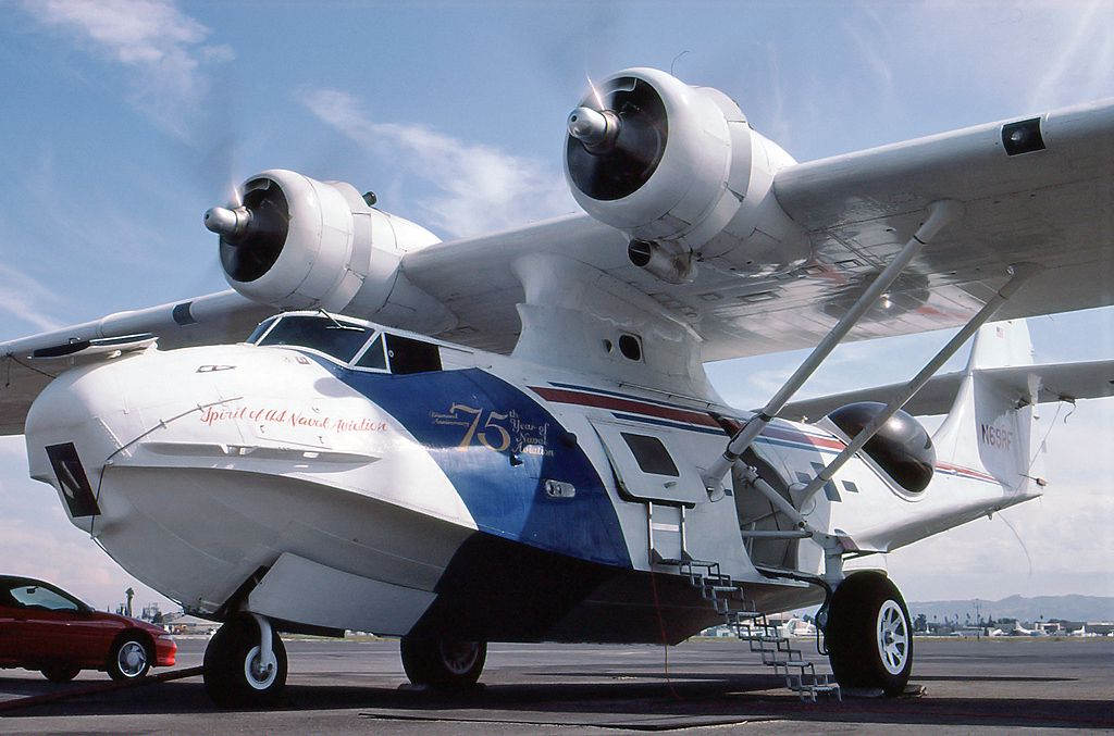 PBY Catalina (early history) Flying boat, Catalina