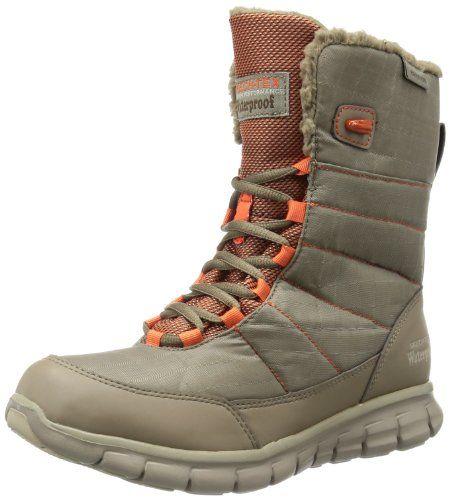 are skechers boots waterproof