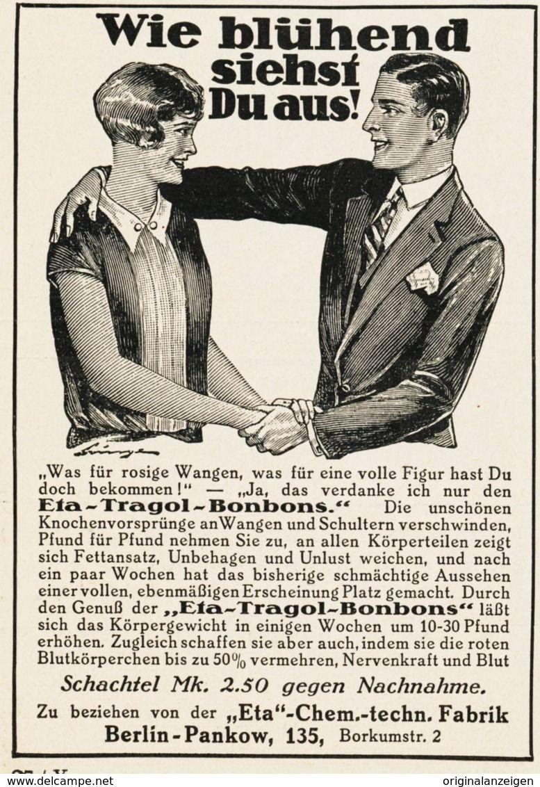 Original Werbung Anzeige 1928 Eta Dragol Bonbons Eta