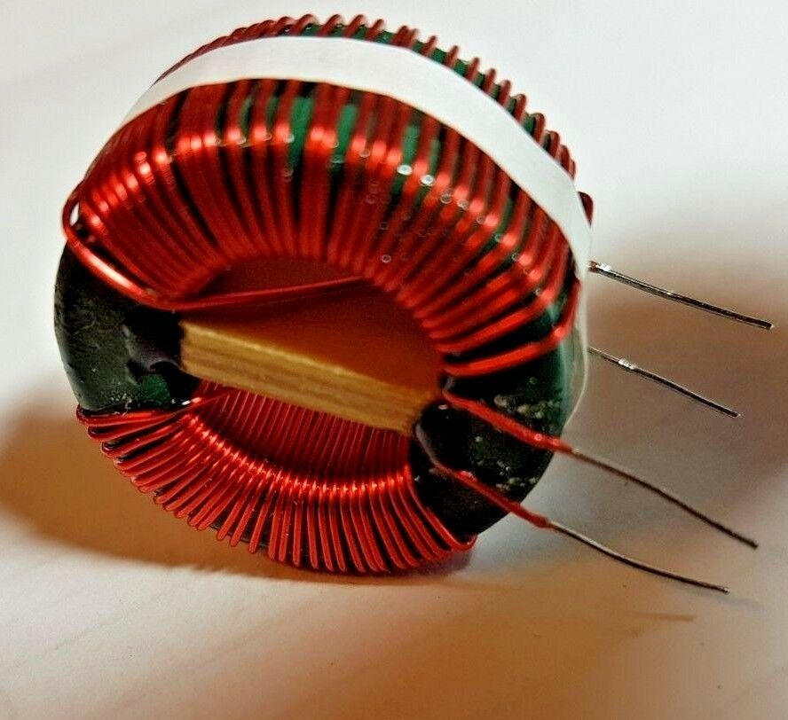 5 x  7.2mH Inductors 140Mohm Coils,Toroid,Filter,Common Mode Chokes,