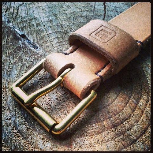 Belt details.