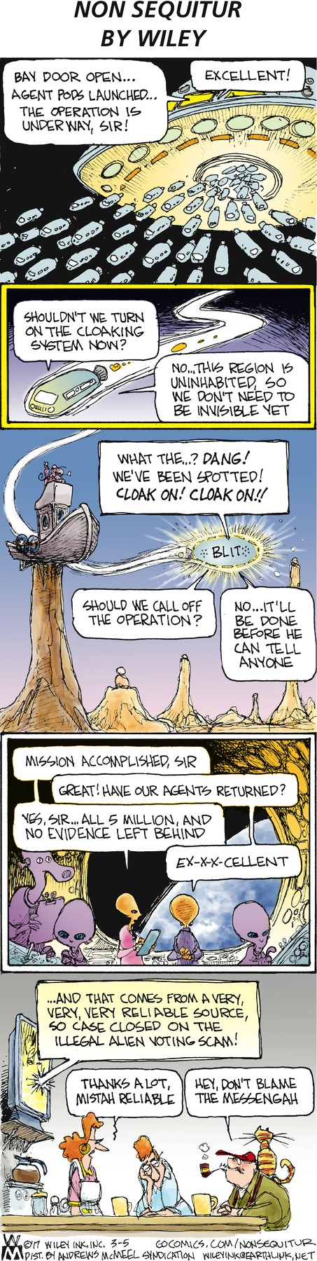 Non Sequitur strip for March 5, 2017