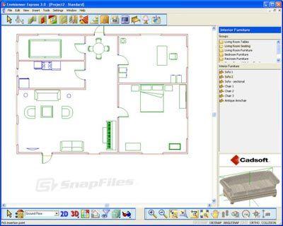 Nice Home Design Floor Plan 3d Download Taken From Http://nevergeek.com