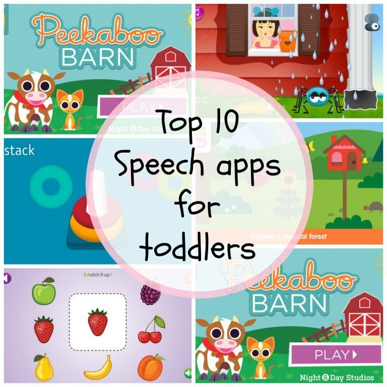 Top 10 Speech and Language Apps for Toddlers Preschool