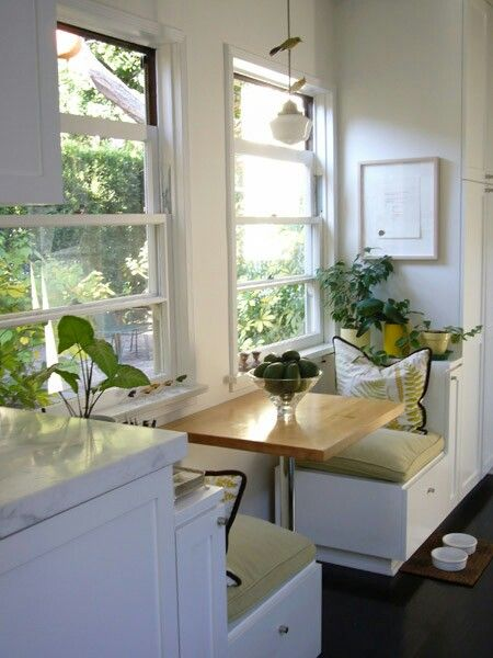 Martha Stewart Living  Design Kitchens  Pinterest  Martha Stunning Window Seat In Dining Room Review