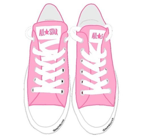 pink converse shoes png files with transparent background