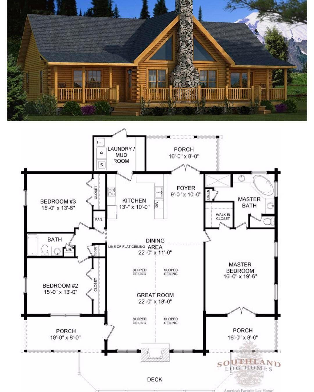 90 Likes 2 ments Southland Log Homes southlandloghom