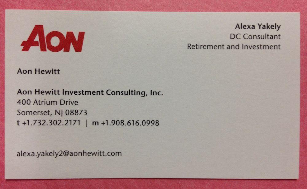Alexa-Yakely-AON-Somerset-NJ.jpg (1000×615) | Business Cards ...