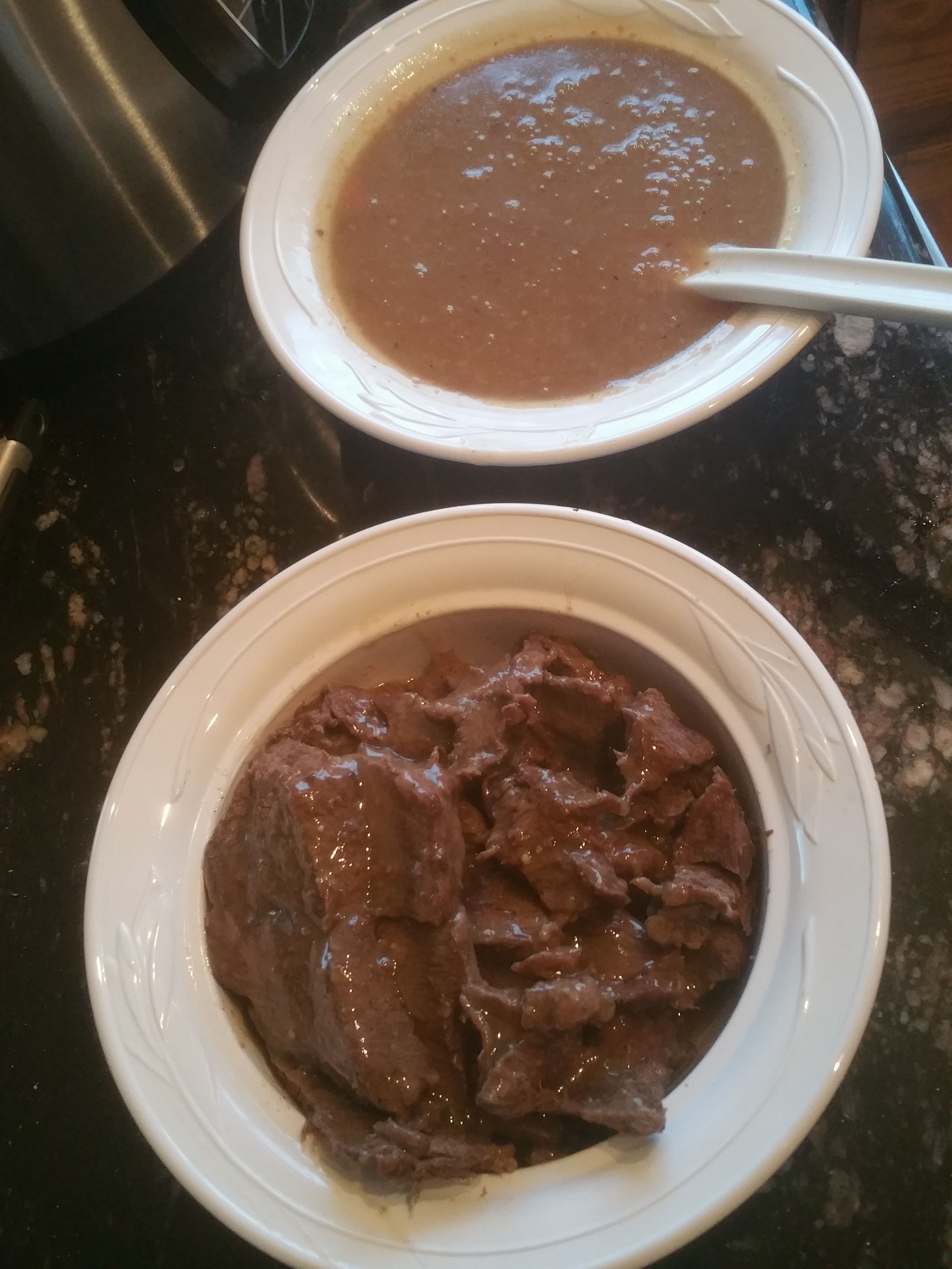 Elk Roast and Gravy made using the Electric Pressure Cooker. You ...