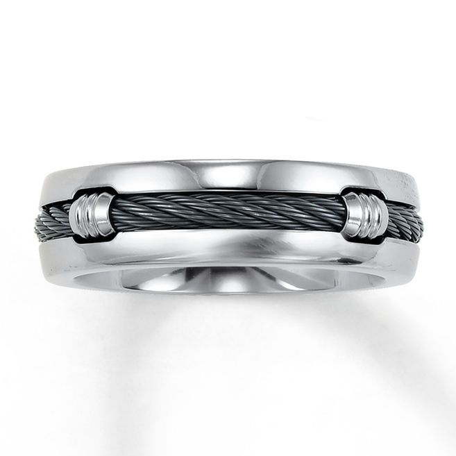 Jared Wedding Band Titanium 7mm Jewelry Pinterest