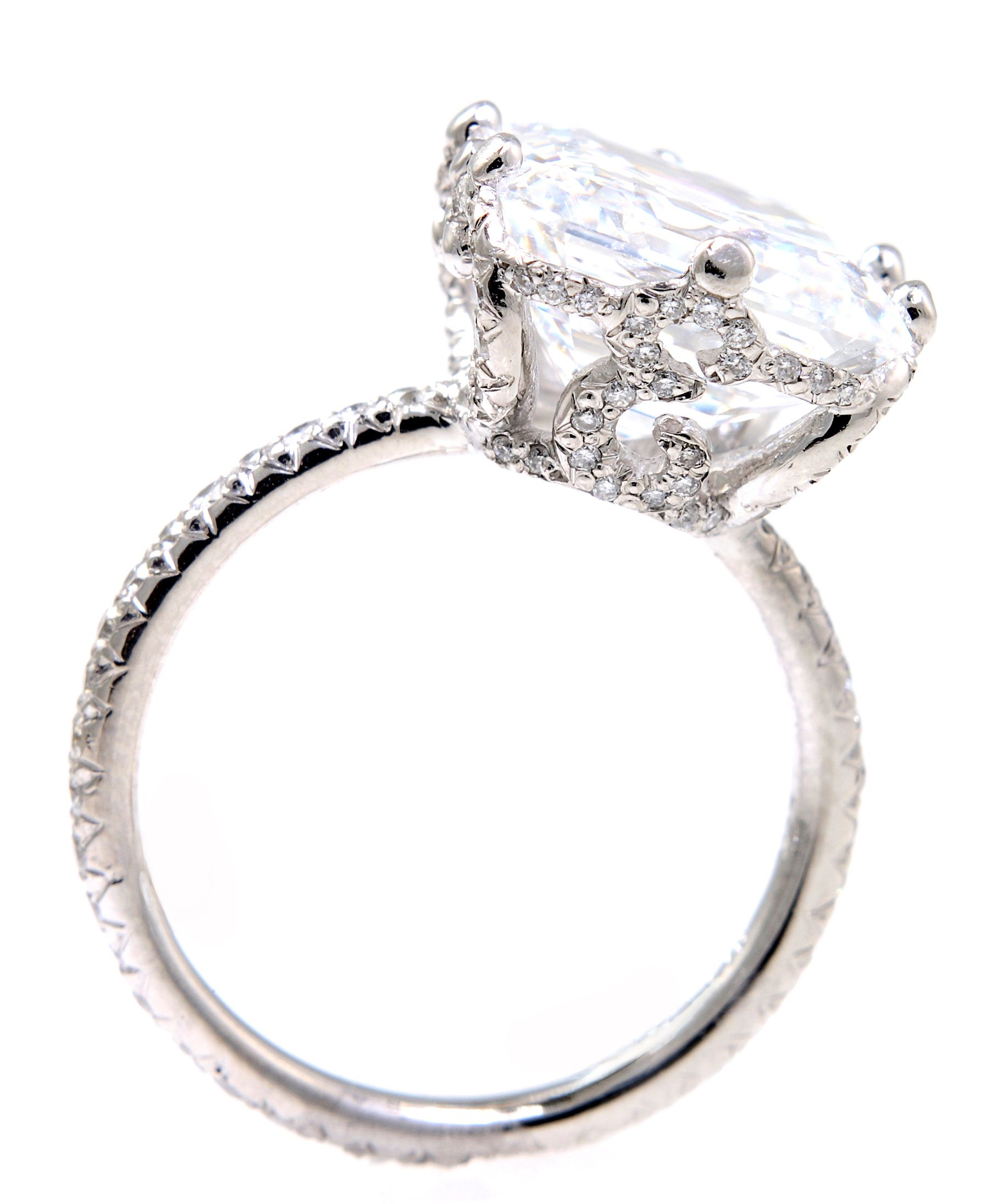 Ellen Initial Engagement Ring By Erica Courtney® (pictured With An