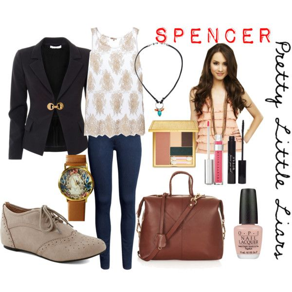 Pretty little liars fashion spencer hastings personnage disney disney et mode femme - Pretty little liars personnages ...