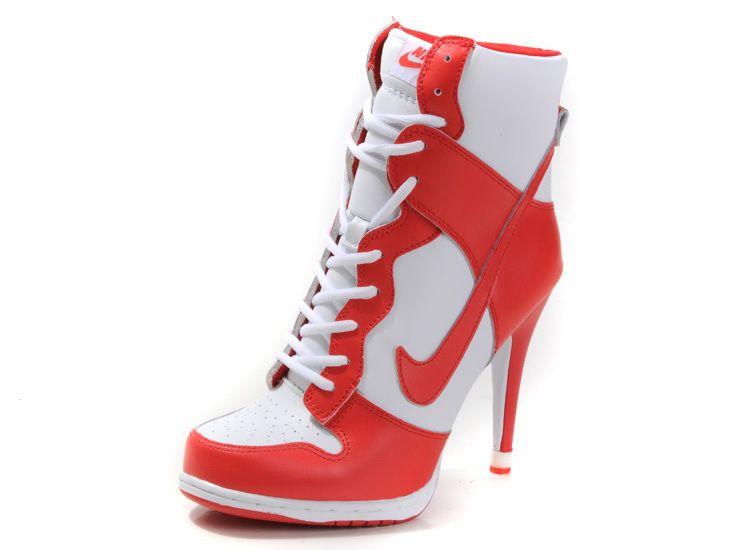 nike with heel