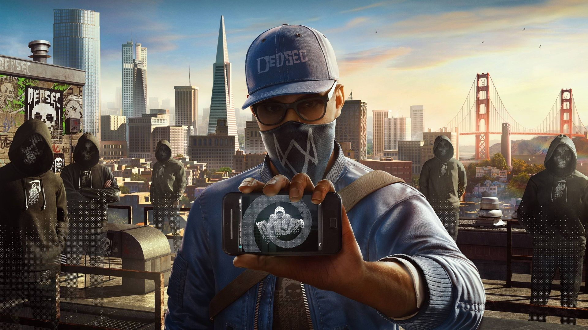 1920x1080 Watch Dogs 2 Wallpaper For Desktop Background Free Download Watch Dogs Watchdogs 2 Ubisoft