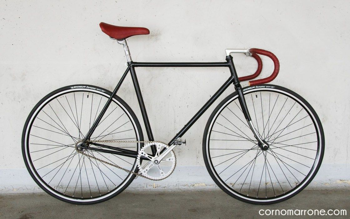 Chiorda Italian Vintage Steel Bike Fixed Gear Fixie Ostre Kolo
