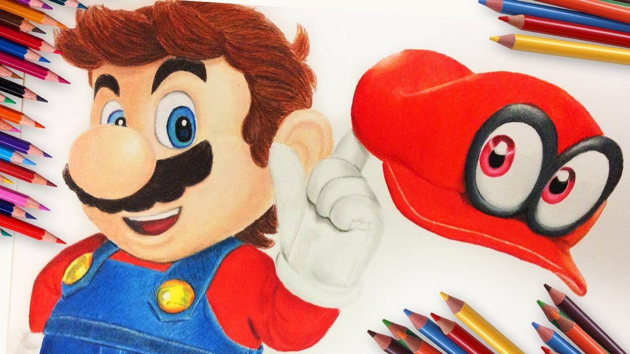 Drawing Mario From Super Mario Odyssey Super Mario Mario Art Mario