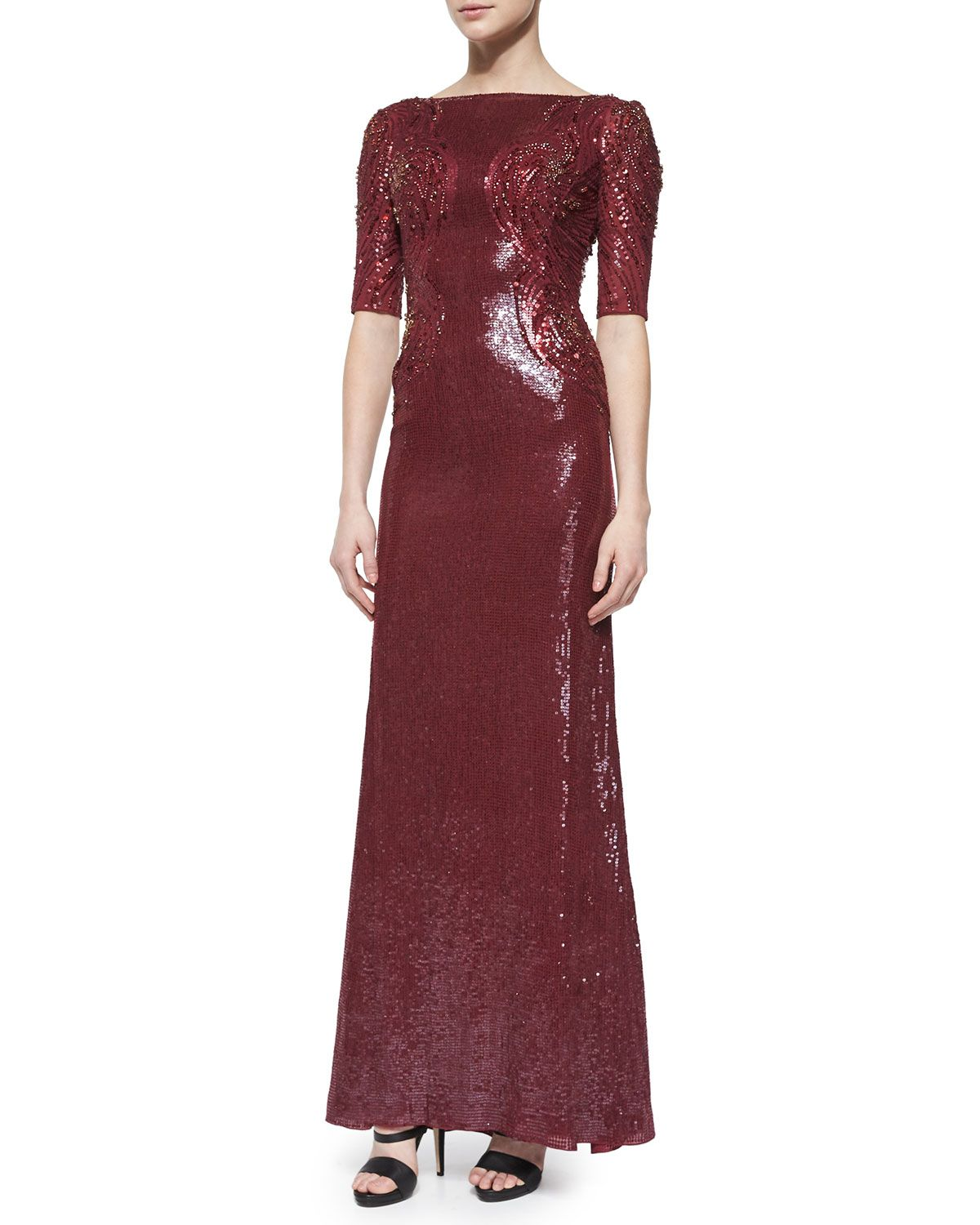 15 Stunning Marsala Dresses for the MOB Jenny Packham #dress wedding ideas, wedding inspiration