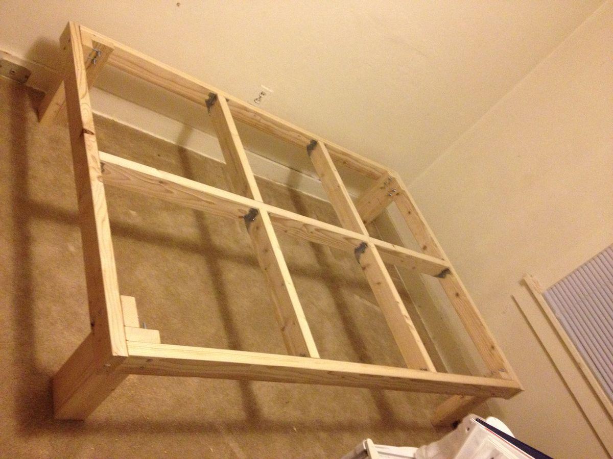 diy full size platform bed frame plans