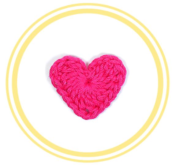 Corazón de Crochet #1 (mediano) | PATRONES VALHALLA // Patrones ...