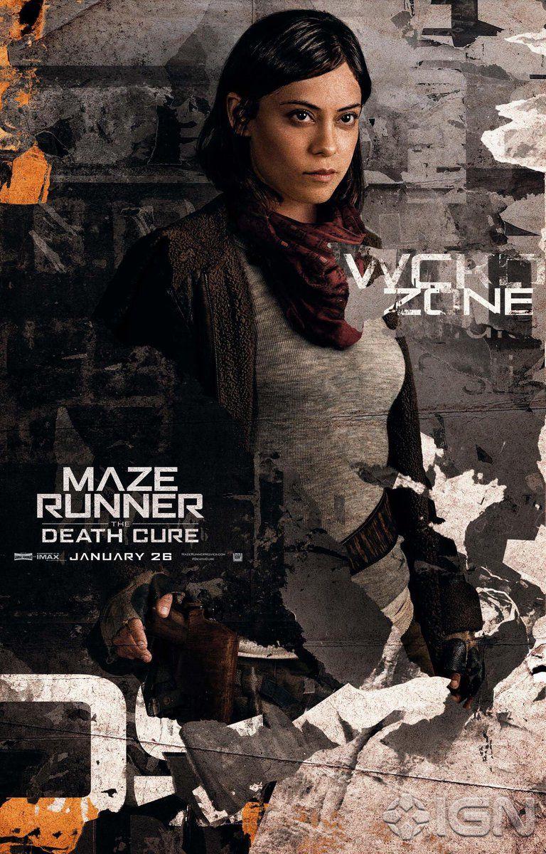 1 Twitter Com Imagens Maze Runner 3 Maze Runner Salazar
